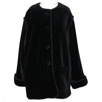 Georges Rech Black Velvet Jacket for Women Vintage