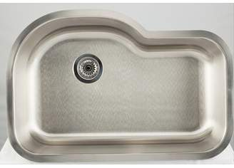"3.1 Phillip Lim Avanities L x 9"" W Undermount Kitchen Sink with Basket Strainer Avanities Faucet Installation Type: Deck Mount"