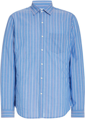 Alex Mill Standard Striped Cotton-Poplin Shirt