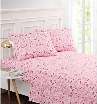 Harper Lane Pretty in Pink Mermaid 3-piece Sheet Set Twin