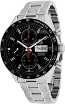 Tag Heuer CV201AHBA0725 Men's Carrera Silver Stainless Steel Chronograph Watch