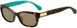 Kate Spade Marilee-P-S 53mm Square Sunglasses