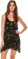 Free People Printed Viscose Voile Trapeze Slip