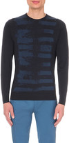 John Smedley Paint merino-wool jumper