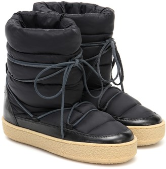 Isabel Marant Zimlee padded snow boots