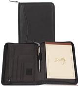Scully Junior Zip Padfolio Italian Leather 5019Z