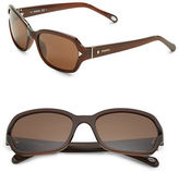 Fossil 55mm Square Sunglasses
