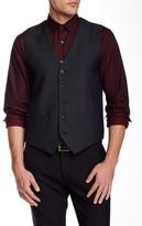 Perry Ellis Slim Jacquard Vest