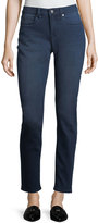 Vince Camuto Super-Stretch Mid-Rise Straight-Leg Denim Jeans