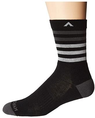 Wigwam Tamarack Trail NXT (Black) Crew Cut Socks Shoes