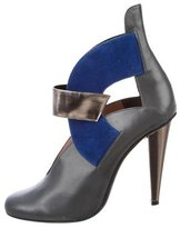 Roland Mouret Leather Cutout Booties