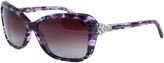 Tiffany & Co. Plum Gradient Butterfly Sunglasses