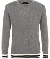 River Island Boys black tipped sweater