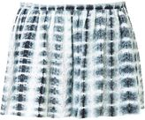 Thakoon eyelet tie-dye shorts - women - Cotton - 4