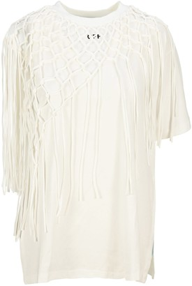 Off-White Off White Crochet Layer Arrow T-shirt