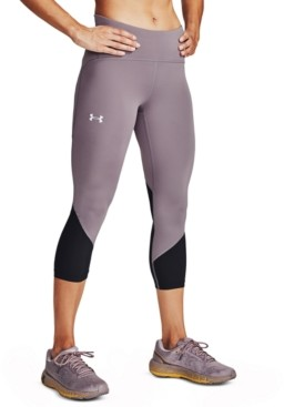 Under Armour Women's Fly Fast HeatGear Colorblocked Cropped Leggings