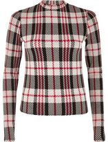 River Island Womens Red check turtleneck top