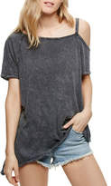 Free People Coralin Cotton Blend Tee