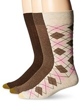 Gold Toe Men's Classic Argyle 3-Pack Sock Sock