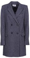 Etoile Isabel Marant Double-breasted Houndstooth Coat