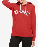 '47 Women's St. Louis Cardinals Shimmer Cross Check Hooded Sweatshirt