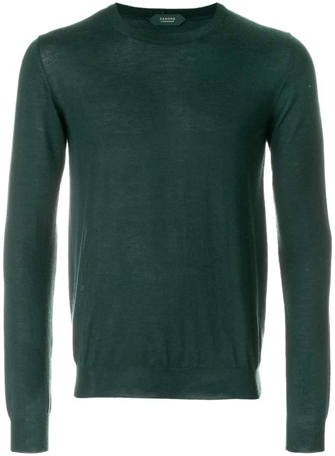 Zanone classic knitted sweater