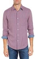Faherty Men's Doubleface Ventura Trim Fit Plaid Sport Shirt