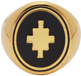Marcelo Burlon County of Milan Gold Cross Ring