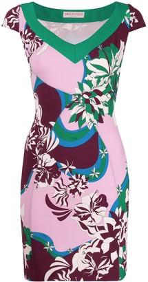 Emilio Pucci ribbon detail dress