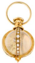 Temple St. Clair Rock Crystal & Diamond Amulet Pendant