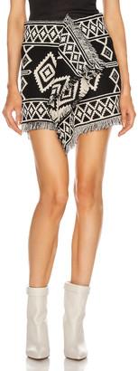 Etoile Isabel Marant Jiloa Skirt in Black | FWRD