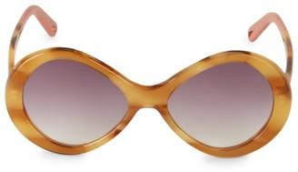 Chloé Bonnie 55MM Butterfly Sunglasses
