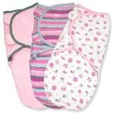 Summer Infant SwaddleMe® 3-Pack Small/Medium Original Swaddle Girly Bug Swaddles in Pink