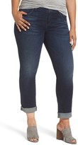 KUT from the Kloth Plus Size Women's Catherine Ripped Boyfriend Jeans