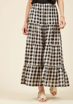 ModCloth Cookout Lookout Maxi Skirt in M