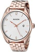 Nixon Women's A4182183 Bullet Rose Gold-Tone Watch