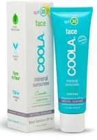Coola Cucumber Face Mineral Sunscreen Spf 30