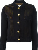 Maison Margiela layered knit cardigan
