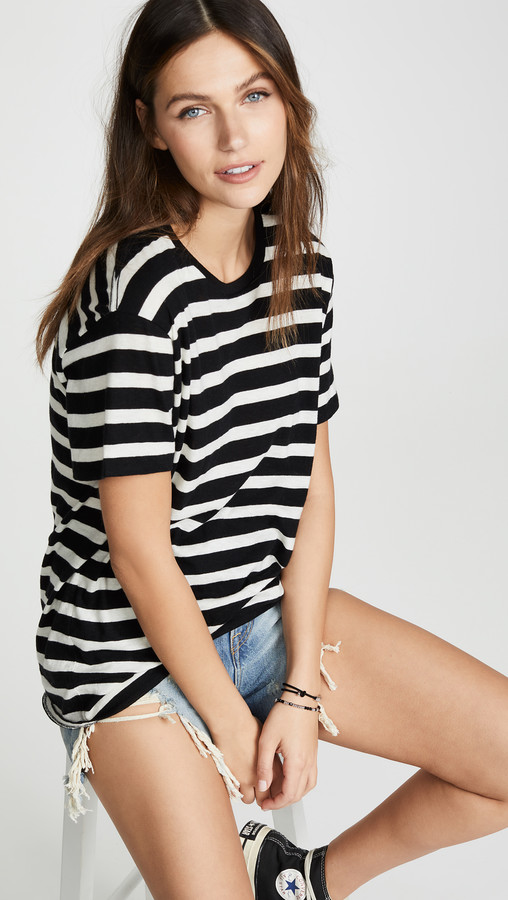 R 13 Boy Striped Tee