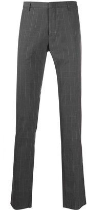 Paul Smith Tailored Checked Print Trousers