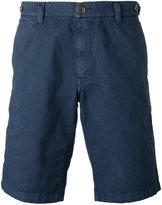 Eleventy shorts with button closing flap pockets - men - Cotton/Linen/Flax/Spandex/Elastane - 31