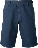 Eleventy shorts with button closing flap pockets