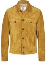 Kent & Curwen Mustard Suede Jacket
