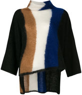 Pierantonio Gaspari Pierantoniogaspari turtle neck striped sweater