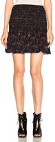 Derek Lam 10 Crosby Smocked Mini Skirt