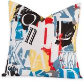 Crayola Dream On 26-Inch Square Throw Pillow