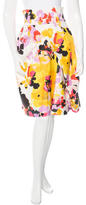 Sonia Rykiel Floral-Print Pleated Skirt w/ Tags