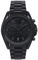 Michael Kors MK5550 Women's Bradshaw Black Stainless Steel Chronograph Watch