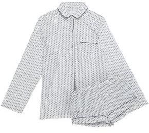 Three J NYC Printed Cotton Pajama Set