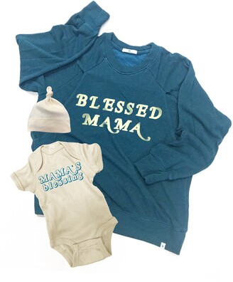 Bun Maternity Blessed Mama Mommy & Me Set